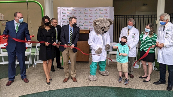 Hoops Family Children's Hospital and WVU Medicine Children's Hospital form clinical affiliation