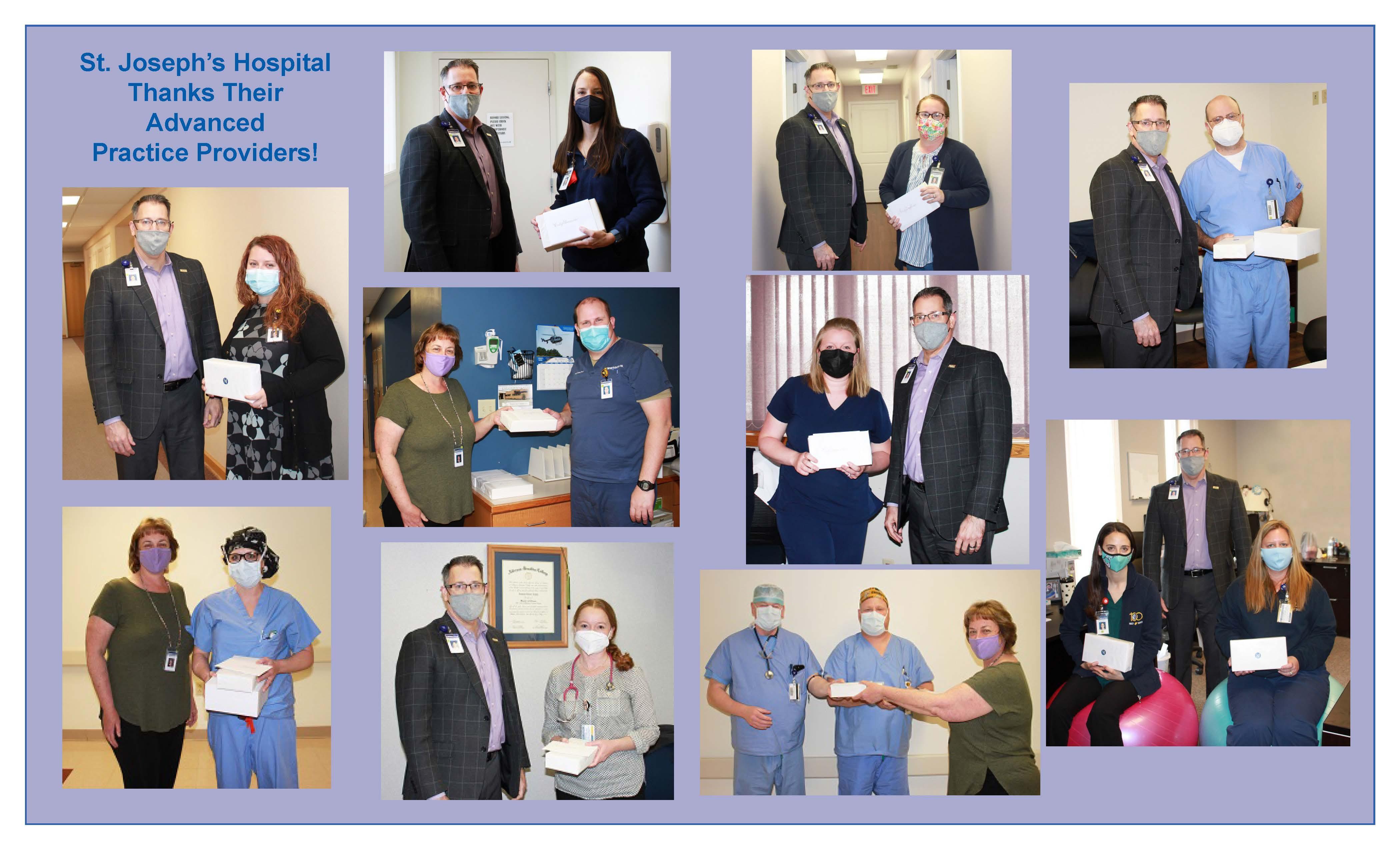 St. Joseph's Hospital recognizes advanced practice providers