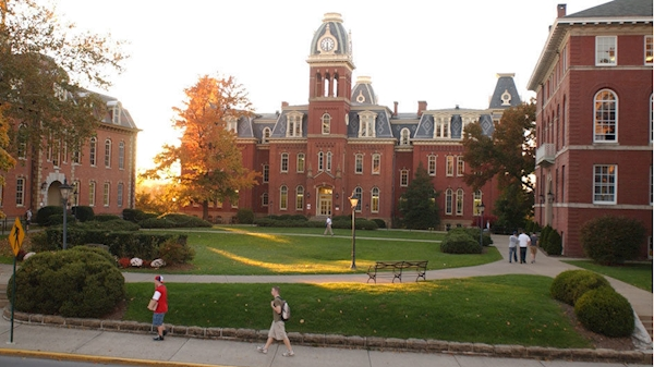 Learn about becoming a Blue Zone University at WVU Town Hall