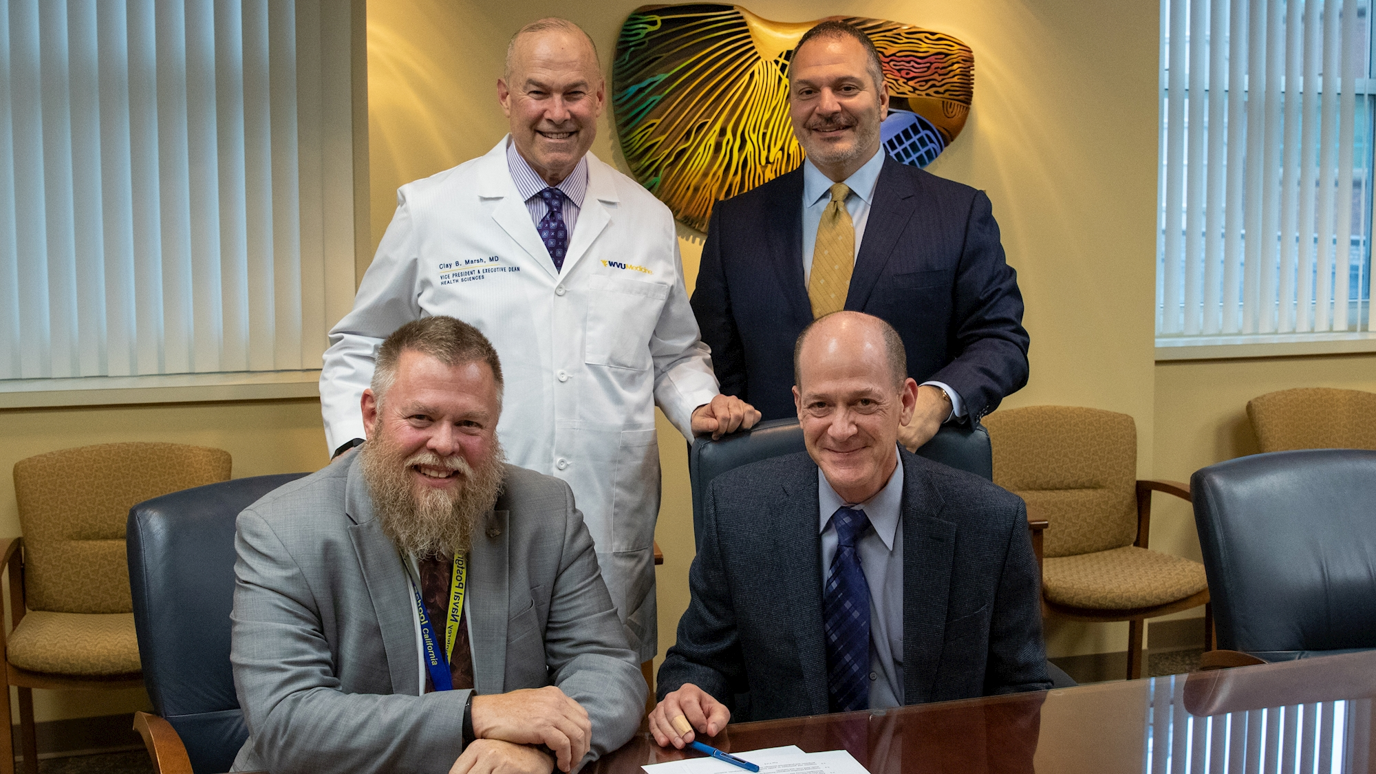 Leadership from the WVU Health Sciences and MCHD met last month to sign the agreement, formally establishing the Academic Health Department.