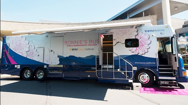 WVU Cancer Institute to host Pink Party for Bonnie's Bus