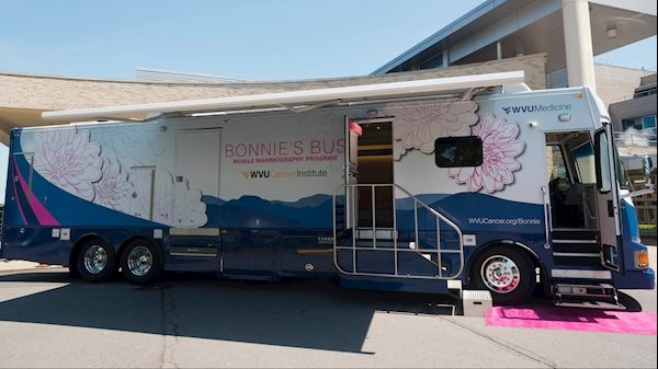New Bonnie's Bus to offer mammograms in Rowlesburg, Hundred, Worthington, Grafton, and Kingwood