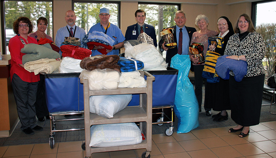 Blanket donation collection
