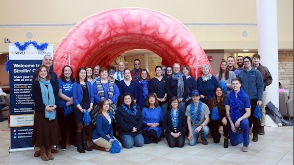 WVU Cancer Institute recognizes Colorectal Cancer Awareness Month
