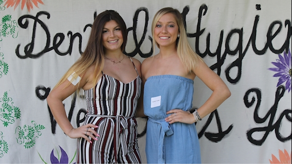 Katya Pase and McKenzi Fisher are representatives for the Class of 2019