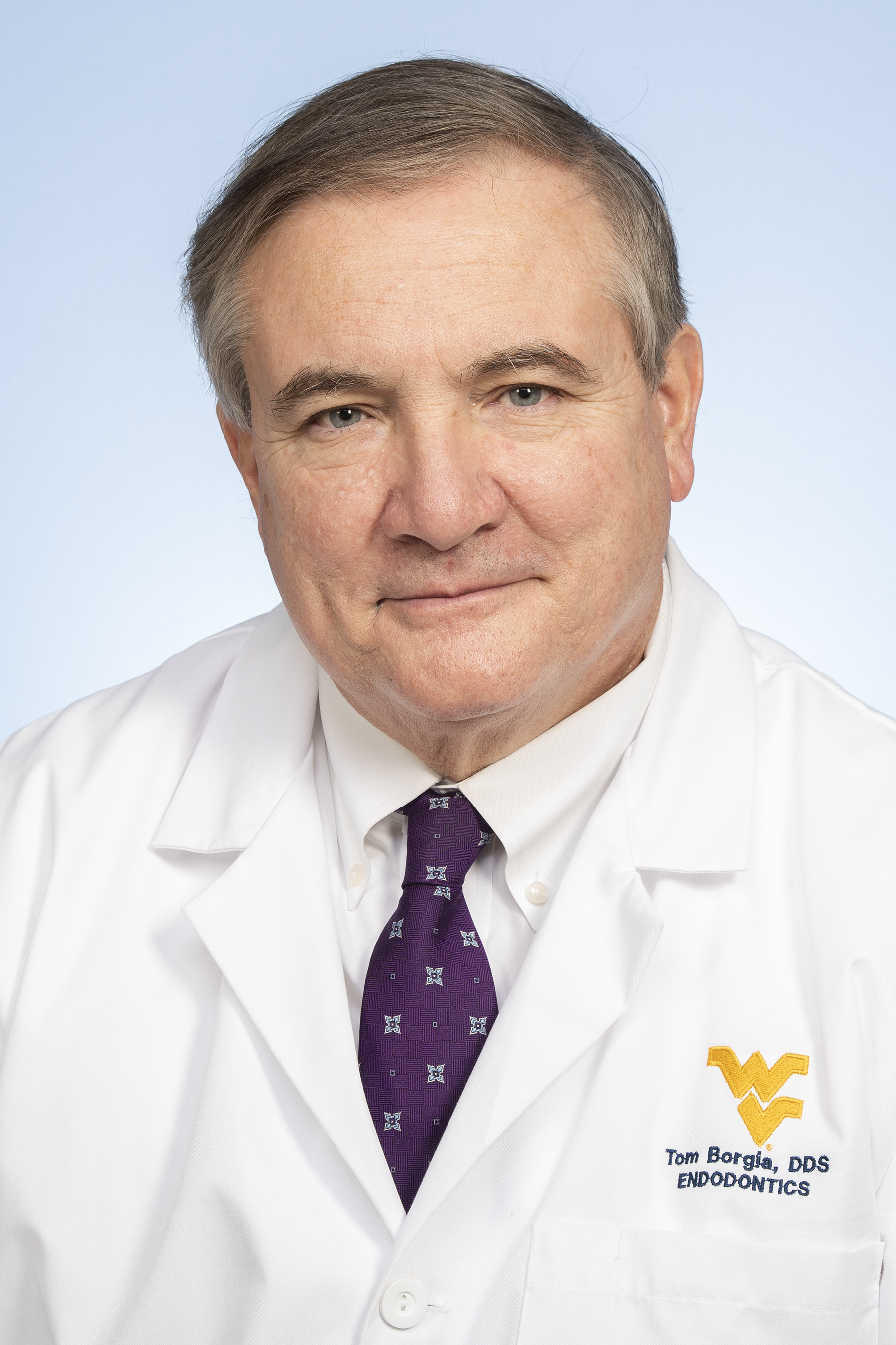 Dr. Anthony Tom Borgia was the WVU dental school dean for 5 years after being a chair and professor.