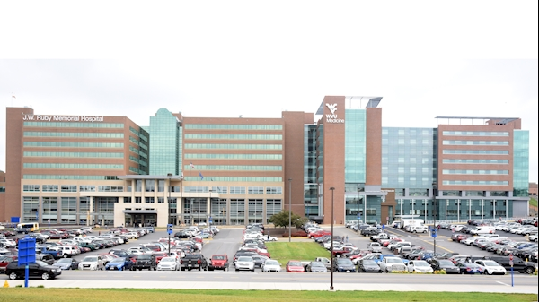 Parking at WVU Medicine J.W. Ruby Memorial Hospital to be affected by football games