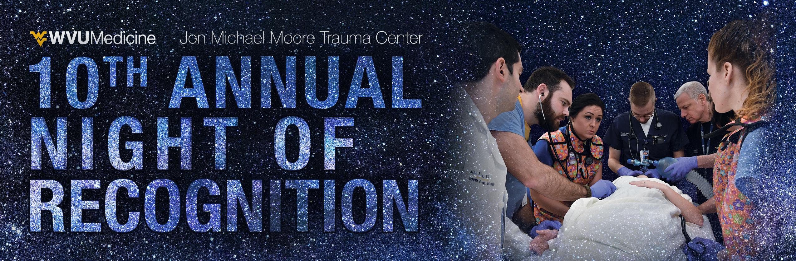 Trauma Night of Recognition banner