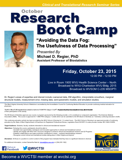 Research Boot Camp Flyer