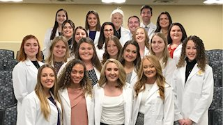 2020 dental hygiene degree candidates present two years of research findings