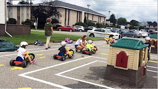 Annual Safety Town course is back at WVU Medicine Reynolds Memorial Hospital
