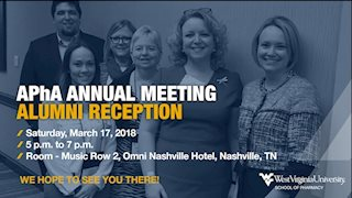 APhA annual meeting alumni reception