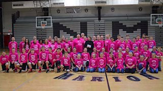 Barrackville Middle School makes donation to breast cancer research