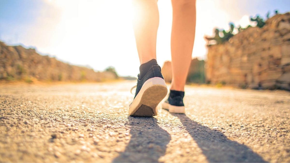 """BeWell Blog — """"Try This Tuesday: Mindful Walking"""""""