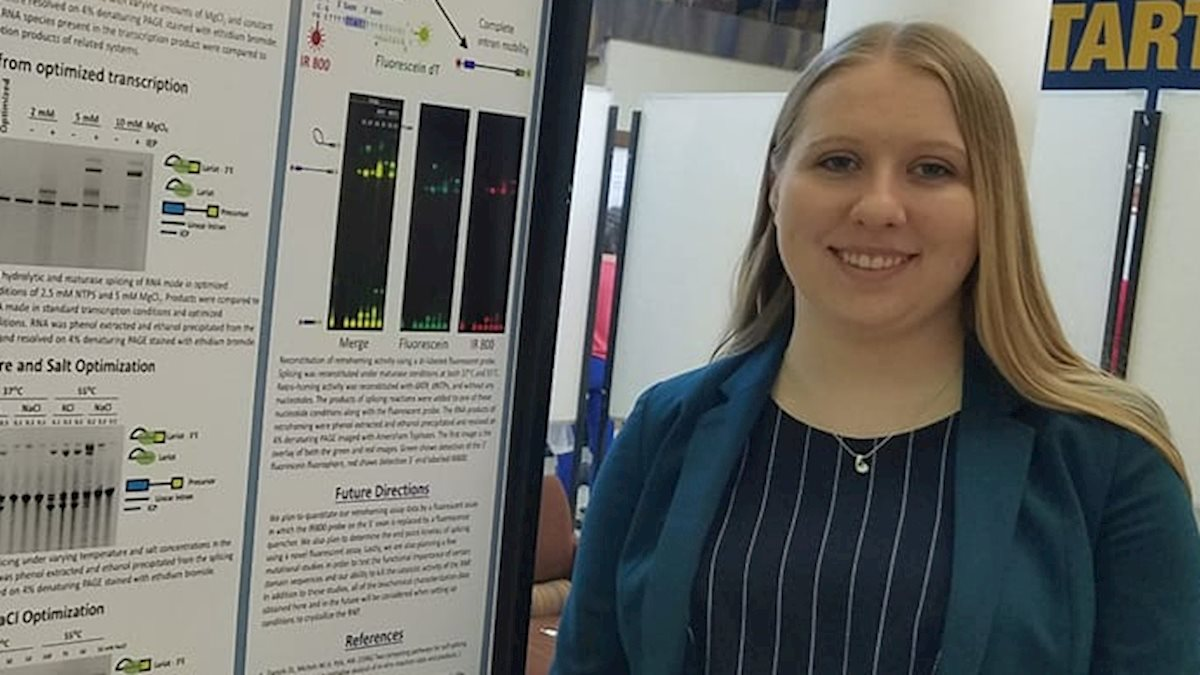 Biochemistry and Molecular Biology Student Publishes Two Stories as Part of Experiential Learning
