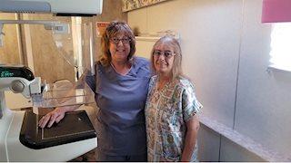 Bonnie's Bus provides its 20,000th mammogram