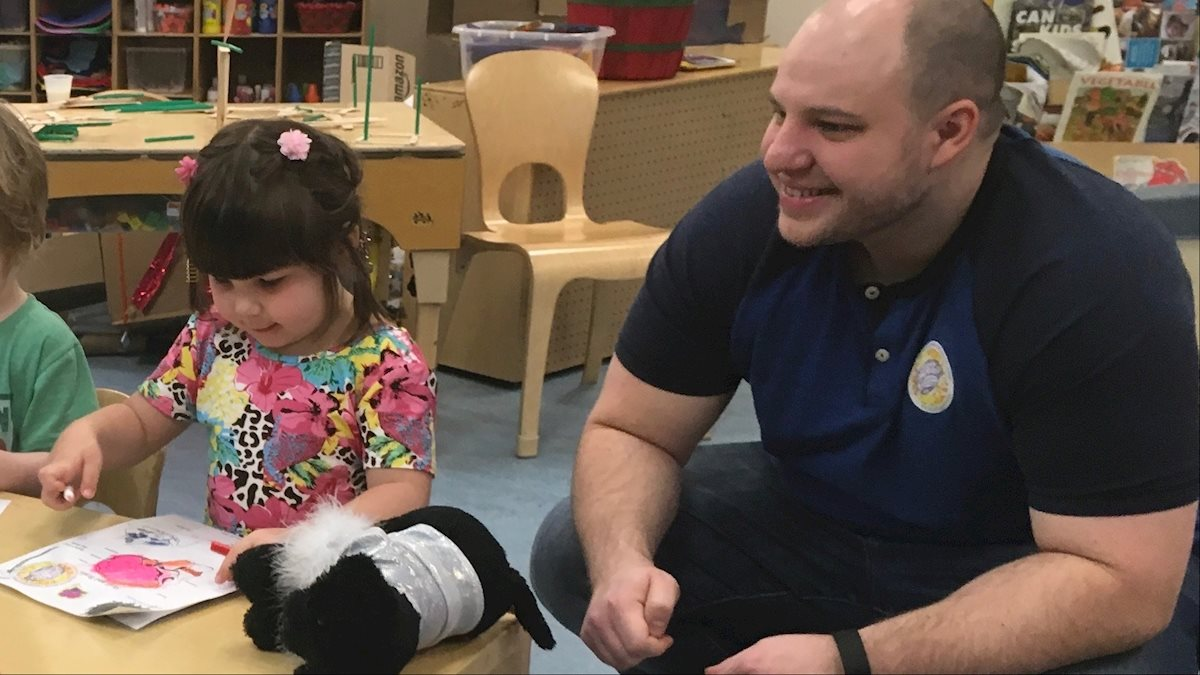 Brain Awareness Week at WVU Early Learning Center
