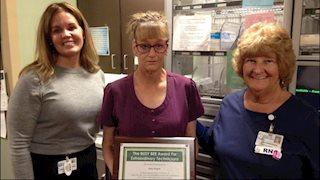 Busy Bee Award winner announced at Berkeley Medical Center