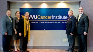 Camden Clark rebrands cancer facility with WVU Cancer Institute name