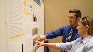 Cancer Institute summer research fellow wins first place award at IDeA Conference