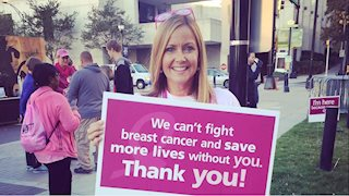 Cancer survivor pays it forward at Bob Huggins Fish Fry