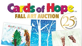Cards of Hope Fall Art Auction to be held Oct. 29