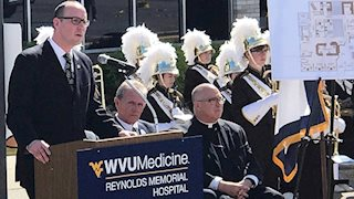 Ceremony marks Reynolds' addition to WVU Medicine