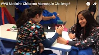 WVU Medicine Children's takes the Mannequin Challenge (Video)