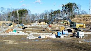 Construction on WVU Medicine Fairmont clinic continues