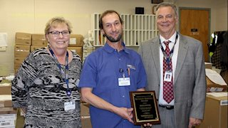 December Quality Service Award recipient announced at Berkeley Medical Center