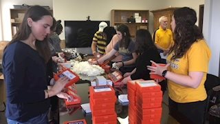 Delta Omega assembles 900 naloxone kits for distribution