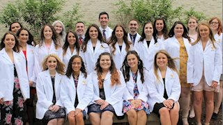 Dental hygiene students prepare for clinical and patient care