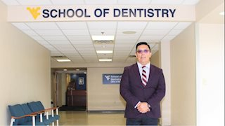 Dental school oral medicine expert teaching and treating patients