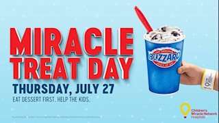 DQ Blizzard Treat sales to benefit WVU Medicine Children's