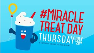DQ Miracle Treat Day to benefit WVU Medicine Children's