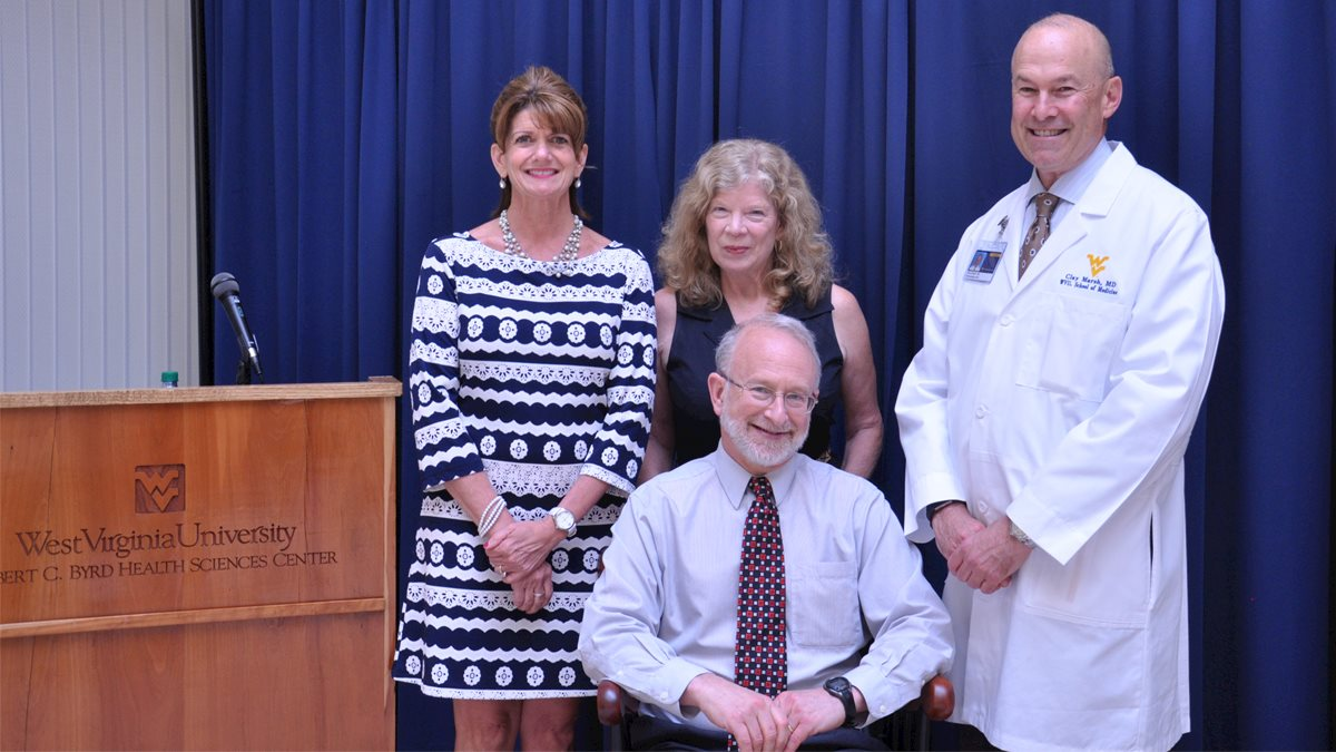 Dr. Goldberg honored as DeLynn Chair of Oncology