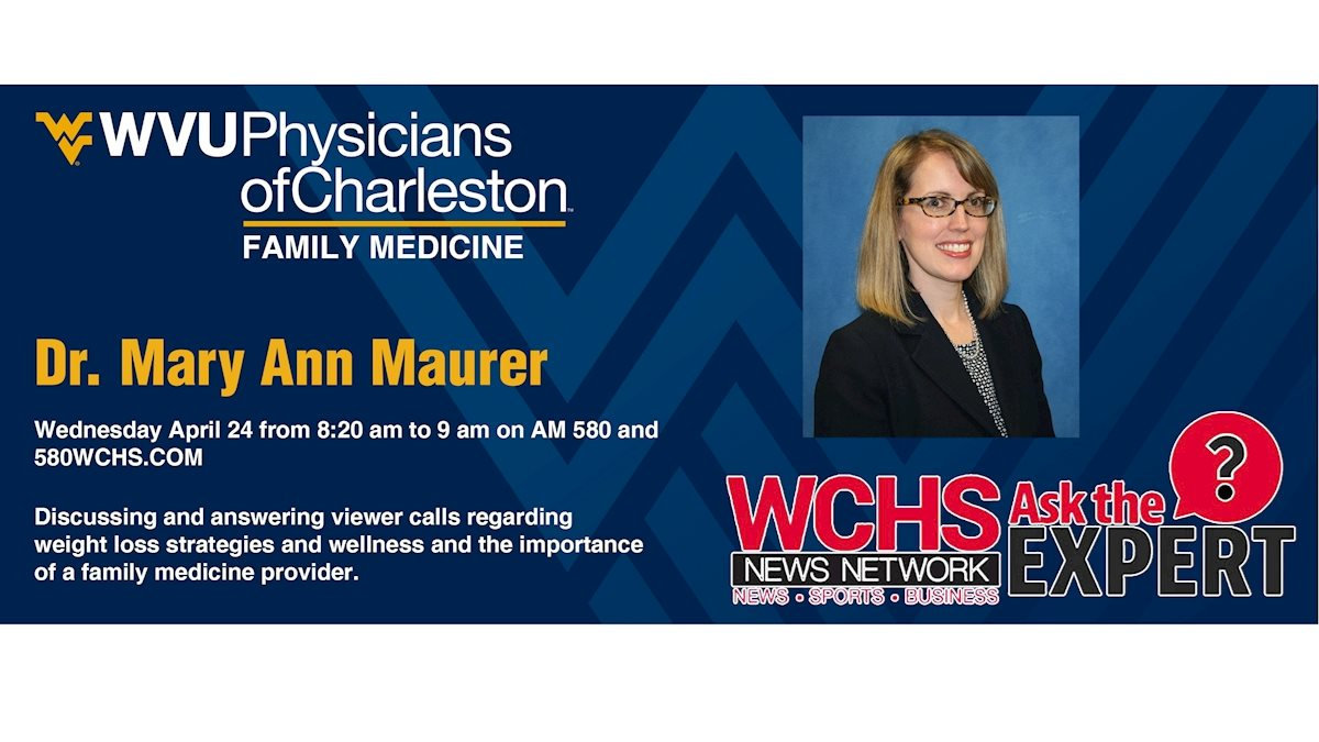 "Dr  Maurer to be featured on WCHS ""Ask the Expert"" 