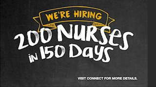 Employees can earn cash and PDO by helping to recruit nurses