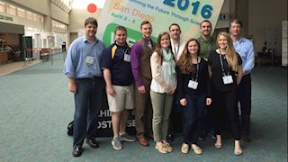 Exercise Physiology students and faculty present their research at the Experimental Biology meeting in San Diego