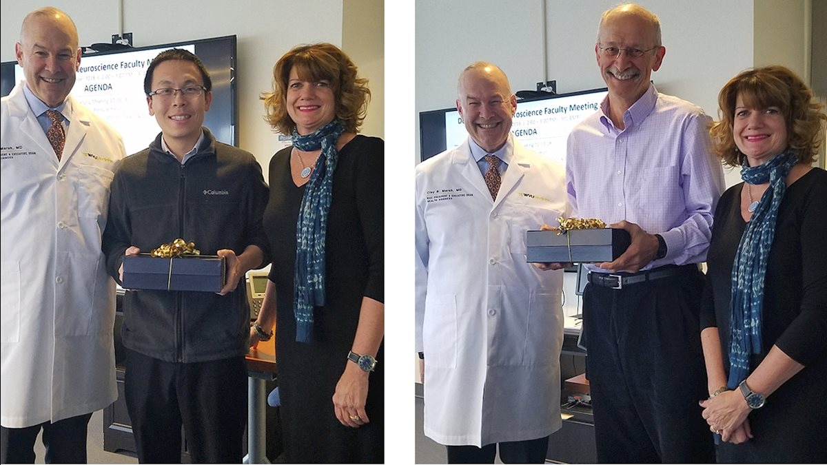 Neuroscience faculty receive HSC research awards