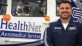 Flying High: Alumnus realizes dream as flight nurse