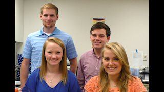 Four students complete cancer research fellowships at WVU