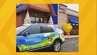 Get free pancakes on IHOP National Pancake Day® and help WVU Medicine Children's