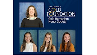WVU SOM Charleston Campus Gold Humanism Honor Society Welcomes New Members