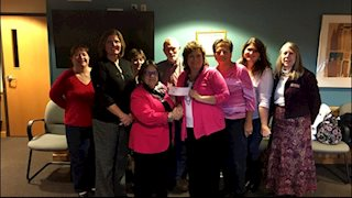 Harrison County group makes donation to Bonnie's Bus