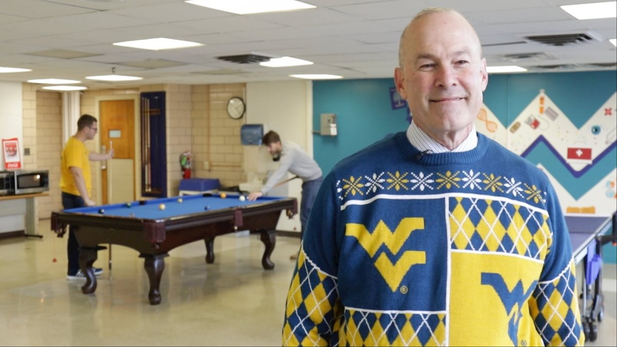 Holiday celebration for Health Sciences and WVU Medicine