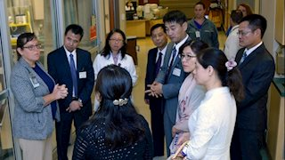 Hospital leaders from China study trauma care at WVU