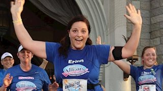 'I have to run with purpose': Erinn's story