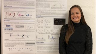 Immunology and Medical Microbiology student wins first place at Van Liere Research Conference
