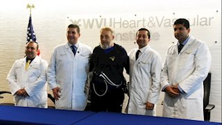 In a first for West Virginia, WVU Heart and Vascular Institute team implants life-saving heart pump